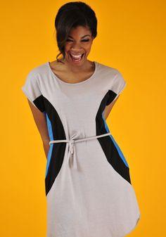 BIBBE Organic Dress, Ethical Ocean ($44) #organic #summer #dress