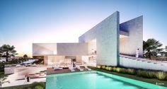 ABU DHABI VILLA / Khalifa Stad Unit Arabische Emiraten   Creato Arquitectos
