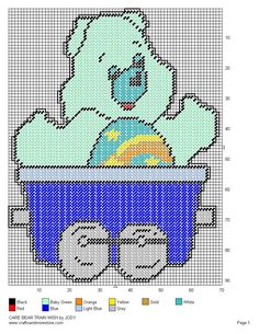 Care Bear Train Set 7