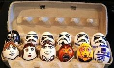 Star Wars Easter eggs :: in case Addie's star wars obsession continues through next Easter