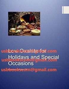 4168 Low Oxalate for Holidays and Special Occasions | 相片擁有者 usbbookscom
