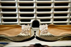 Granville Wedding by Shannon Sano Photography Pearl Shoes, Pearl And Lace, Tory Burch Flats, Pearls, Photography, Wedding, Fashion, Valentines Day Weddings, Moda