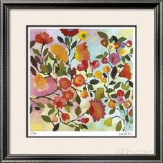 Rose Trellis Limited Edition Framed Print by Kim Parker at AllPosters.com