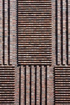 Gallery of Rassvet Loft Renovation / DNK ag - 40 Brick Art, Brick And Wood, Brick Tiles, Brick And Stone, Brick Masonry, Masonry Wall, Stone Facade, Brick Facade, Brick Design