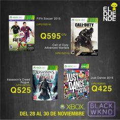 ¡Ofertas exclusivas de videojuegos durante el #BlackWeekend de El Duende! #BlackFriday