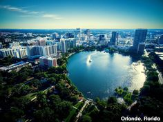Here's an Orlando attraction you may not have heard of. Lake Eola Park is open to the public, and the lake is in fact a sinkhole! This beautiful oasis is famous for its fountain, which puts on a colorful light show at night. The park also features the Walt Disney Amphitheater, a playground, and a Chinese pagoda. On Sundays, you'll see a farmers market and on July 4, a fireworks extravaganza. Proof that there's more to Orlando than just theme parks!