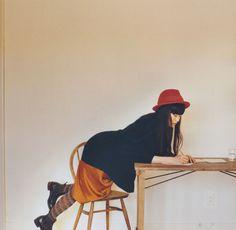 Yu Aoi doodling