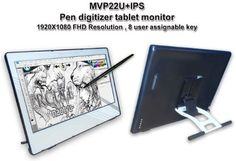 Yiynova MVP22U+ IPS 21.5インチ フルHD ペンタブレット デジタイザー 液晶モニター VESAスタンド (Windows & Mac対応), http://www.amazon.co.jp/dp/B00FR2QNPM/ref=cm_sw_r_pi_awdl_mnECub1E5JT6X