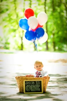 First birthday pictures. I like the idea of this picture but with what ever theme Vincent's bday is going to be. One Year Birthday, Boy First Birthday, Birthday Bash, First Birthday Parties, First Birthdays, Birthday Ideas, One Year Pictures, First Year Photos, Baby Pictures