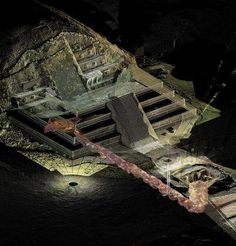 Archaeologists believe that a recent discovery of liquid mercury in a subterranean tunnel beneath the Temple of the Feathered Serpent in Teotihuacan, Mexico, may represent an underworld river that leads the way to a Royal tomb or tombs. The entrance to an 1,800-year-old tunnel beneath the Temple of the Feathered Serpent, first discovered in 2003, and an extensive project involving human researchers and remote-control robots, has been ongoing ever since.