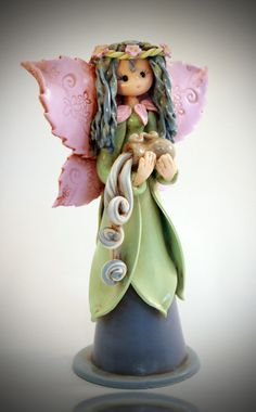 *POLYMER CLAY ~ aquarius fairy