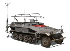 Sd.Kfz 251/3 Ausf. A: This was a Radio command vehicle. In 1939 only 232 were produced by Hanomag in Hanover.