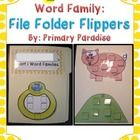 This freebie is part of my Short Vowel Word Families: File Folder Flippers pack. If you like this, click here to check out the whole pack.    If you'...