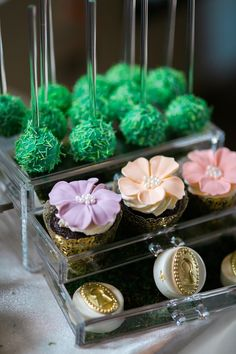Cakepops and chocolates from a Secret Garden Birthday Party like no other! See this Kara's Party Ideas feature with 33 pics right here!