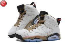 AIR JORDAN 6 RETRO White/Gold For Cheap X0YZDW