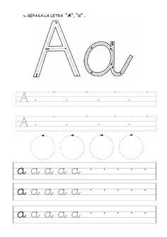 2nd Grade Worksheets, Alphabet Worksheets, Preschool Worksheets, Preschool Activities, Cursive, Action Words, Letter Formation, Help Teaching, Home Schooling