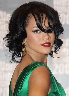 13.Stylish Rihanna Bob Haircut