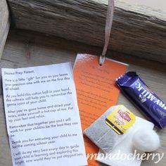 math worksheet : survival kits first day of school and first day on pinterest : First Day Of School Gift For Preschool Teacher