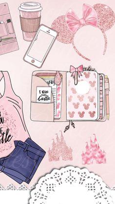Girl stuff wallpaper iphone disney, pink wallpaper, wallpaper for your phone, screen wallpaper Cute Wallpaper For Phone, Wallpaper Iphone Disney, Cute Wallpaper Backgrounds, Tumblr Wallpaper, Cellphone Wallpaper, Pink Wallpaper, Cool Wallpaper, Cute Wallpapers, Screen Wallpaper