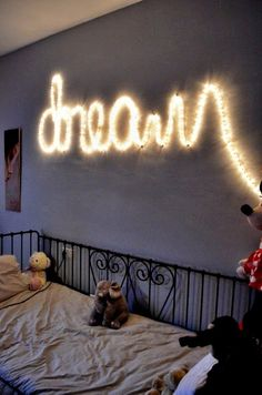 Fun & Easy DIY Lighting Solutions For Dorm Rooms Give a college student a string of Christmas lights and the possibilities are endless! #lighting #college #decor #dormroom The Domestic Curator