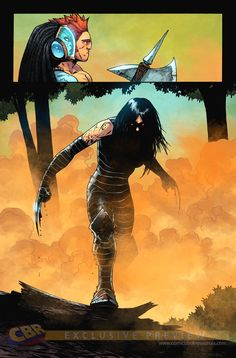 Avengers Arena - X-23 by Kev Walker