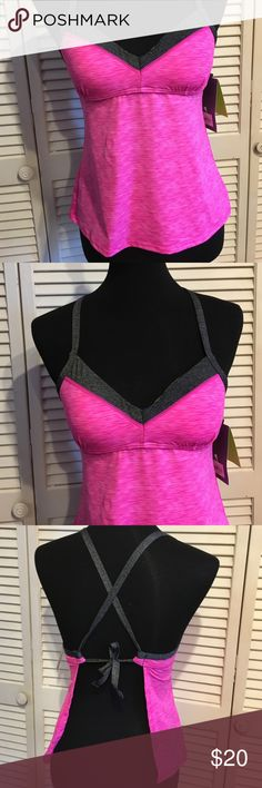 Summer sale! Vacation ready Tankini Small New with tags, $40, misses swimwear Tek Gear pink size Small. tek gear Swim Bikinis