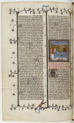 Français 10135, fol. 134v, Songe de Charlemagne
