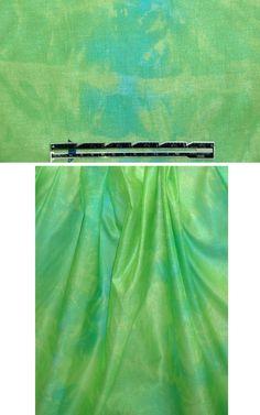 Lili Samii nyl/cott hand-dyed woven - lime/aqua from EmmaOneSock.com