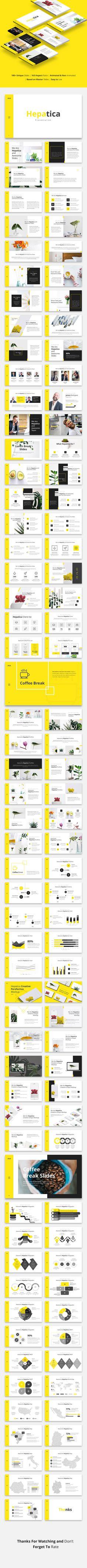 Hepatica - Yellow Powerpoint - Download here: https://graphicriver.net/item/hepatica-yellow-powerpoint/21807484?ref=ksioks