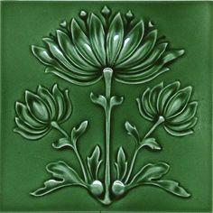 Wall tile Art Nouveau BLOSSOMS