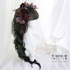 Kawaii Hairstyles, Pretty Hairstyles, Wig Hairstyles, Anime Wigs, Anime Hair, Kawaii Wigs, Lolita Hair, Magic Hair, Hair Reference