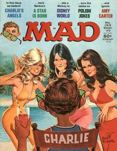 Charlies Angels Mad Magazine