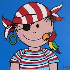 knutselen van papegaai voor kleuters bij piraten - Google zoeken