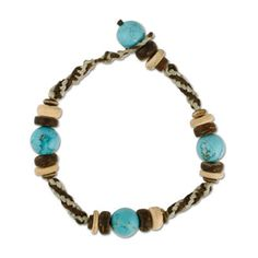 Tribal Turquiose Bracelet Turquoise Bracelet, Beads, Bracelets, Collections, Jewelry, Products, Fashion, Beading, Bangles