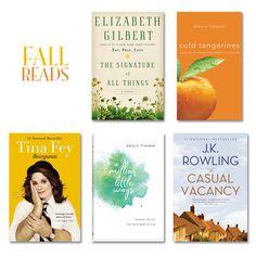 fall book list    www.prettyplainjanes.com