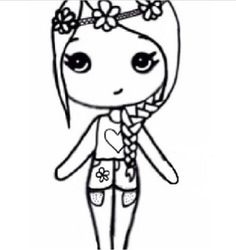 Flower child chibi