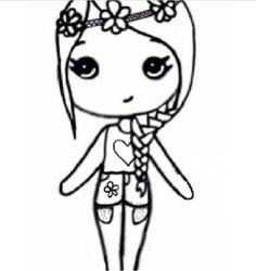 Flower child chibi