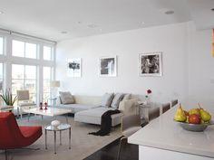 Accent Wall Adds Dimension in Chic Contemporary Bedroom : Designers' Portfolio : HGTV - Home & Garden Television