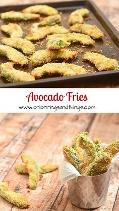 The best way to enjoy avocados is this delightful combination of crunchy and creamy mock fries.