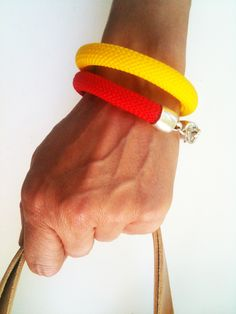 simple design color cord bracelets