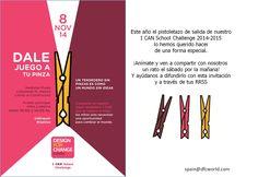 Eventos Design For Change School Challenge  #change #dfcspain #tupinza
