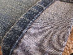 Comprou umas calça jeans perfeita mas está sem poder usar?! Bainha mal feita ou calça comprida de mais e não vai poder usar ainda hoje?Bom, eu não sei muito sobre costura apesar de minha ...
