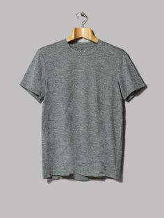 A.P.C. Outdoor Voices Flat Iron Tee (Gris Chine)