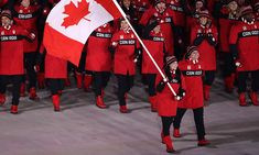 Tessa Virtue and Scott Moir lead Team Canada in Olympic opening ceremony 2018 Winter Olympic Games, 2018 Winter Olympics, Winter Games, Virtue And Moir, Tessa Virtue Scott Moir, Tessa And Scott, Olympics Opening Ceremony, Canada Eh, Media Literacy