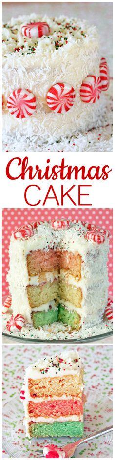 Christmas Cake #christmascake #cakerecipes #christmasdessert