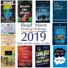 Read More Reading Challenge: A Book with Stars on the Cover or in the Title Reading Challenge, Read More, Books To Read, Challenges, Stars, Cover, Slipcovers, Star