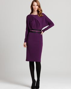 "Not a fan of the ""arm webbing,"" but this is a fun long-sleeve dress!"