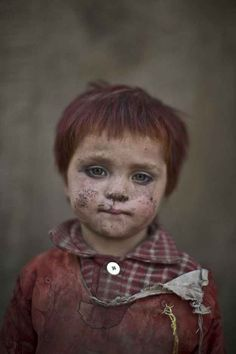 21 Powerful Portraits Of Afghan Refugee Children