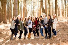 Gathered nine incredible ladies all together to learn about the ins and outs of photography and running your own business - it was so much greater than we ever could have imagined!
