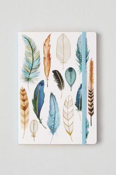 American Eagle Outfitters AEO Chronicle Books Feathers Notepad https://api.shopstyle.com/action/apiVisitRetailer?id=532059745&pid=uid8121-34549011-83